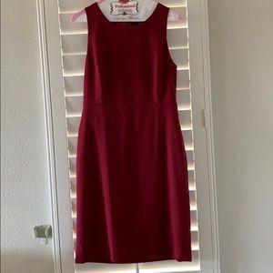 J. Crew mercantile wine colored dress size 4